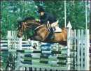Louise at Spruce Meadows