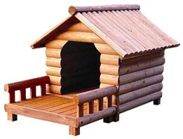 rattan balcony wood cat house