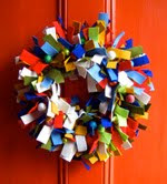 felt holiday wreaths