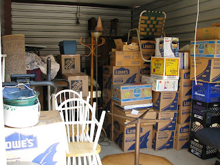 Storage unit nearly full