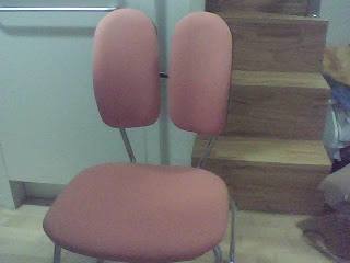 My orang-ee chair