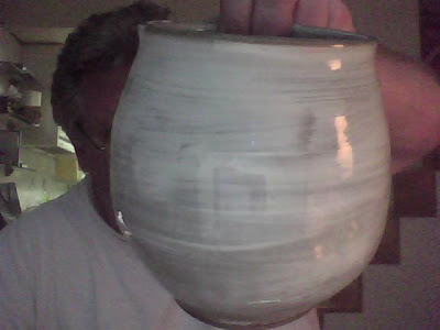 Gifted vase, by Mr. Chun
