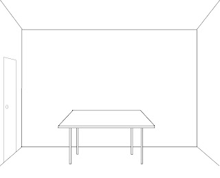 Room with table diagram