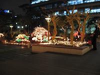 Christmas lights at Somerset Hotel