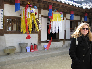 Hanok Village, courtyard