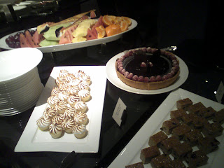 dessert table at St Patrick's Day reception