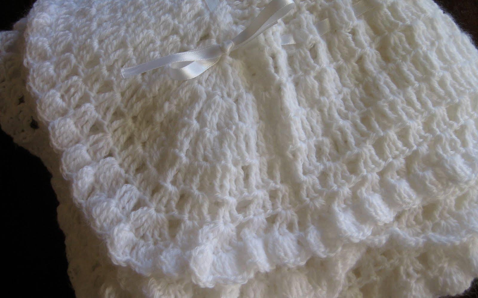 Vintage Knitting Pattern Baby Blanket : Mel P Designs: Vintage Baby Blanket