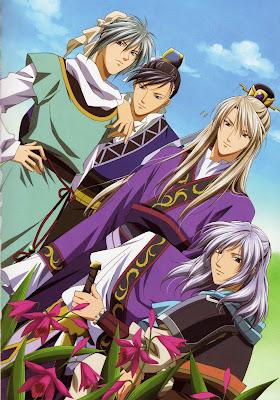 Câu Truyện Của Saiunkoku - Gia Sư Của Hoàng Đế