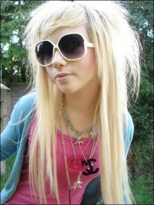 Beautiful Long Emo Hairstyles For Emo Teen Girls 2010
