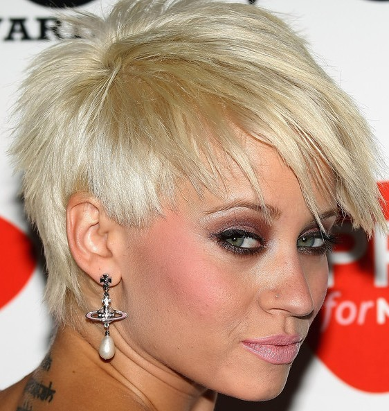 Kimberly Wyatt Hairstyles Color are Blonde, Ash Blonde, Golden Blonde.
