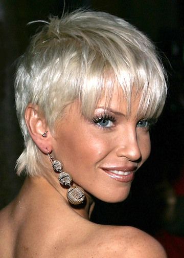 Women Short Haircuts Photos from Sarah Harding 2011