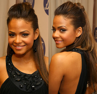 Modern Halfway up hairstyle for women 2011