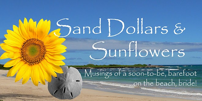 Sand Dollars & Sunflowers: The Wedding
