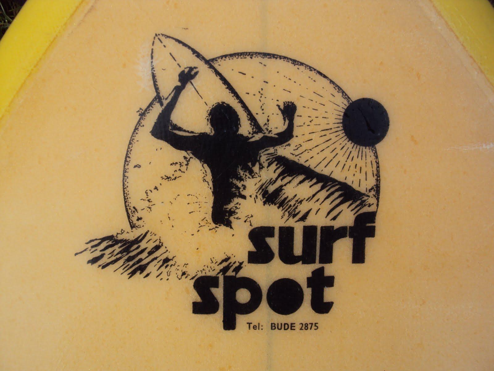 Vintage Surfboard Collector UK Surf Spot Bude