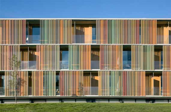 Archy laboratory la mola hotel and conference centre in for Hotel design facade