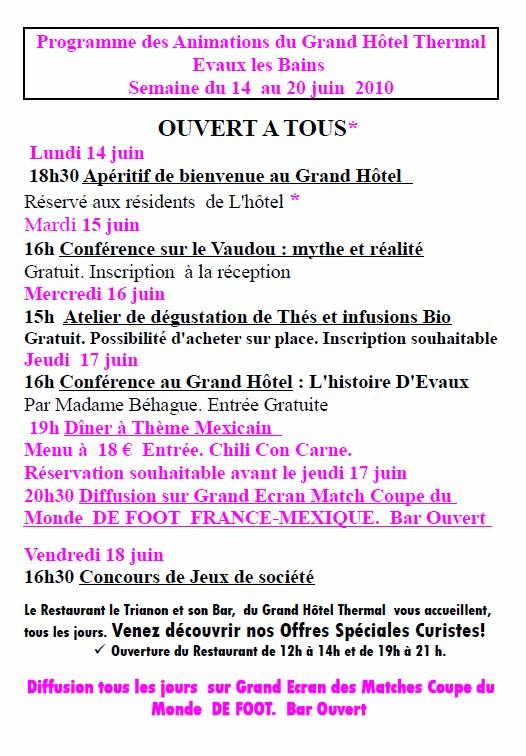 Info Creuse Allier 13 Juin 2010