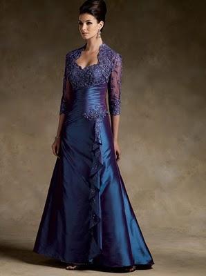 Vestidos de madrina para boda de noche