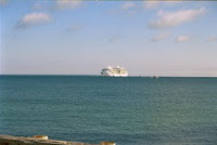 Cruise Ship off Oak Bluffs