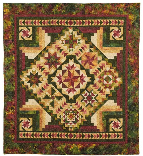 Wee Folks Heirloom Quilt Shoppe: Back to Nature Tonga Batik BOM