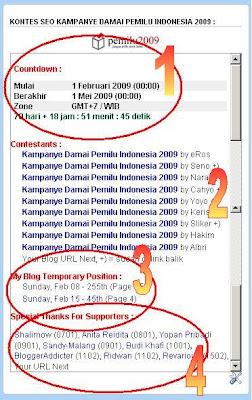 info kampanye damai pemilu indonesia 2009