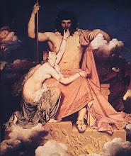 Zeus y Thetis