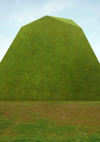 monolithe gazon