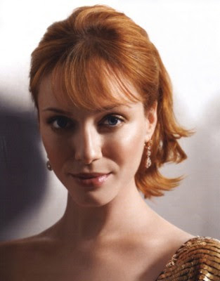 christina hendricks boyfriend. Christina with Chris at the