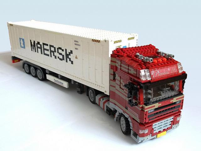 Как сделать грузовик конструктор