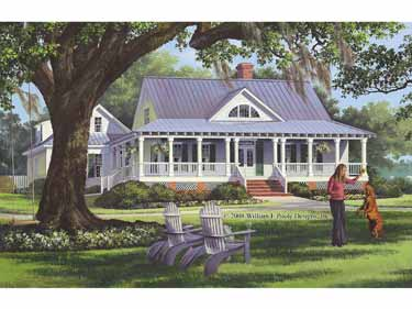 Nicole on the inside april 2010 for House plans with porches all the way around