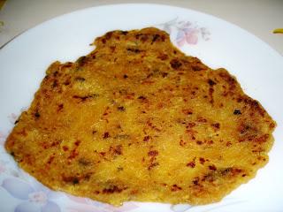 Papaya Paratha