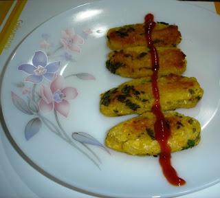 Corn Sikh Kabab