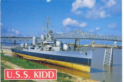 Usa - uss kidd (dd-661)