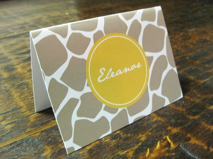 [giraffe+personalized+card]