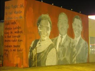Sour harvest inspiring mural from mr brainwash for Mural by mr brainwash
