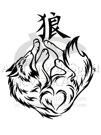 wolf head tattoo. wolves tattoos. hairstyles