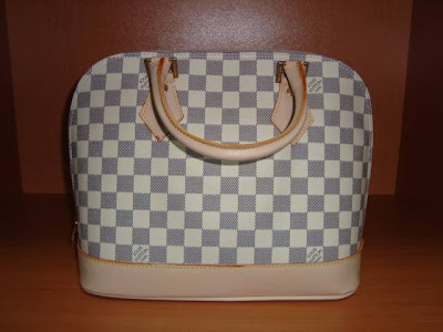 Louis Vuitton Alma Canta Damier canvas