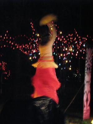 hula on stilts