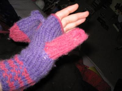 valentine's mittens