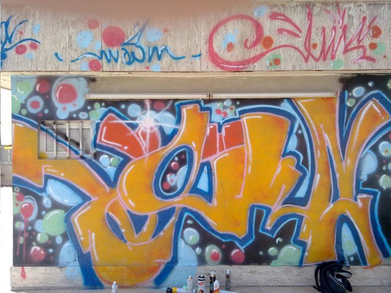 Graffiti Schrift: August 2010