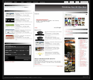 Pro magazine Black Blogger Template