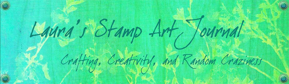 Laura&#39;s Stamp Art Journal