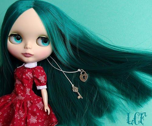 Ricardo de melo blythe dolls for Miroir princesse