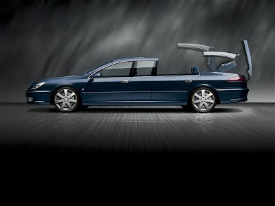 Peugeot 607 Paladine Limousine