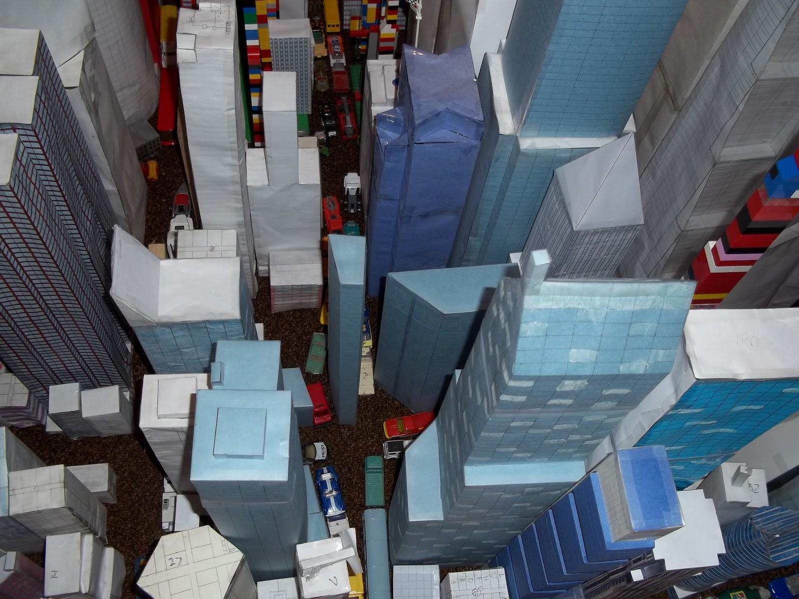 My Paper Model City