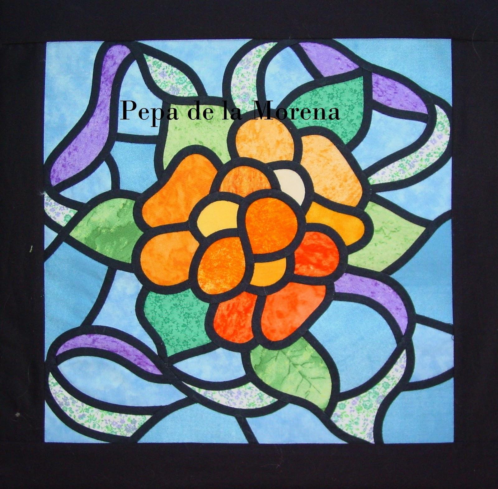 dibujos faciles para patchwork imagui On vidrieras sencillas