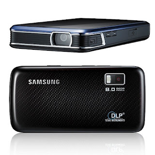 Samsung projector in mobile phone