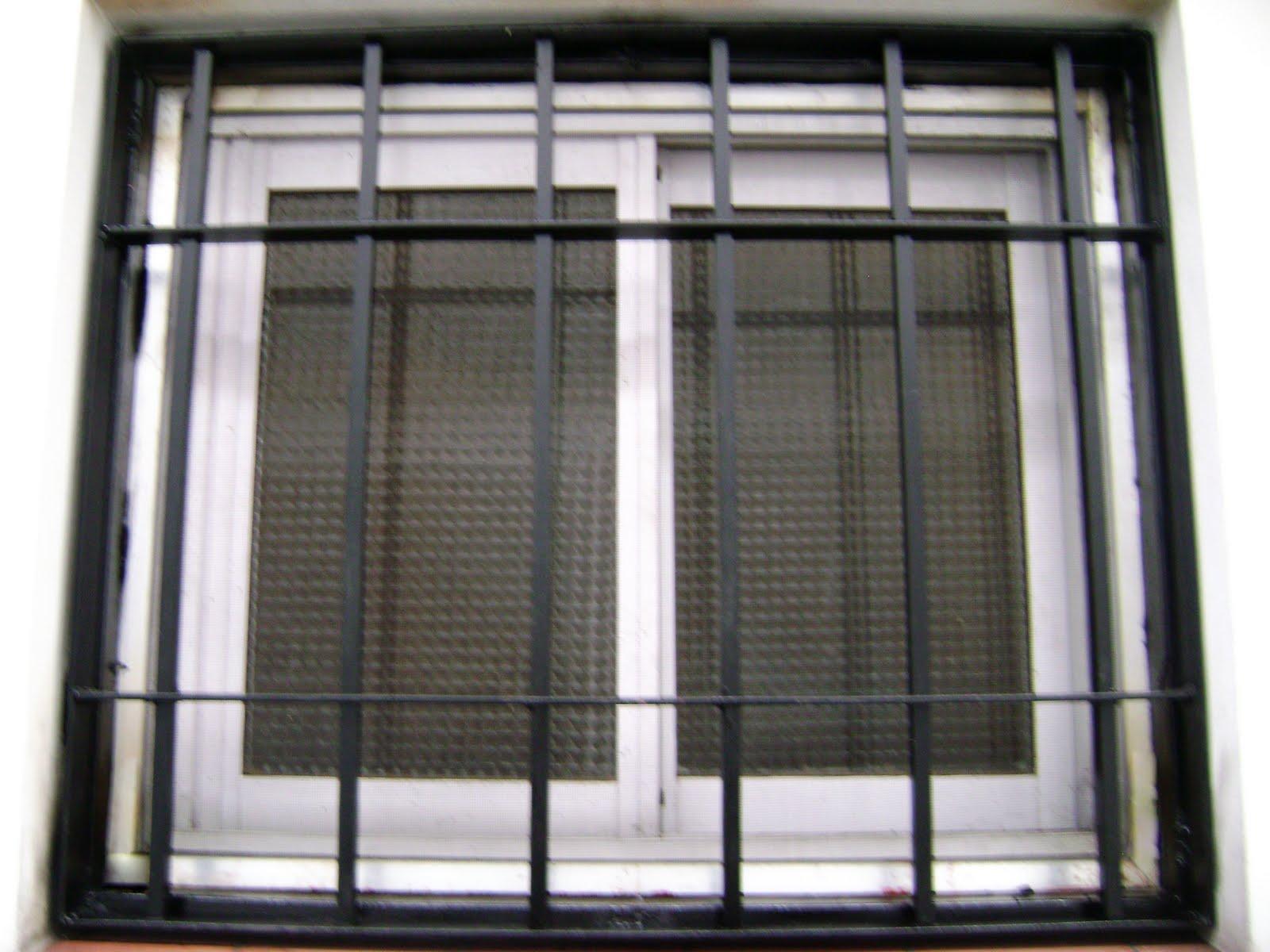 Rejas para ventanas y refuerzo para puerta car interior for Rejas para puerta