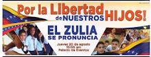 El Zulia unido por la libertad de nuestros hijos