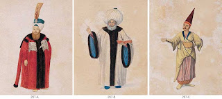 19th century anonymous figures from ottoman social life
