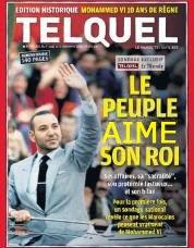 le peuple Marocain aime son roi telquel